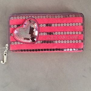 AUTHENTIC Juicy Couture Sequins Wallet